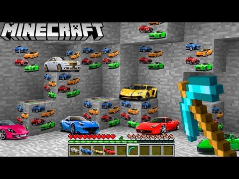 Ich FINDE das AUTO ERZ in Minecraft!