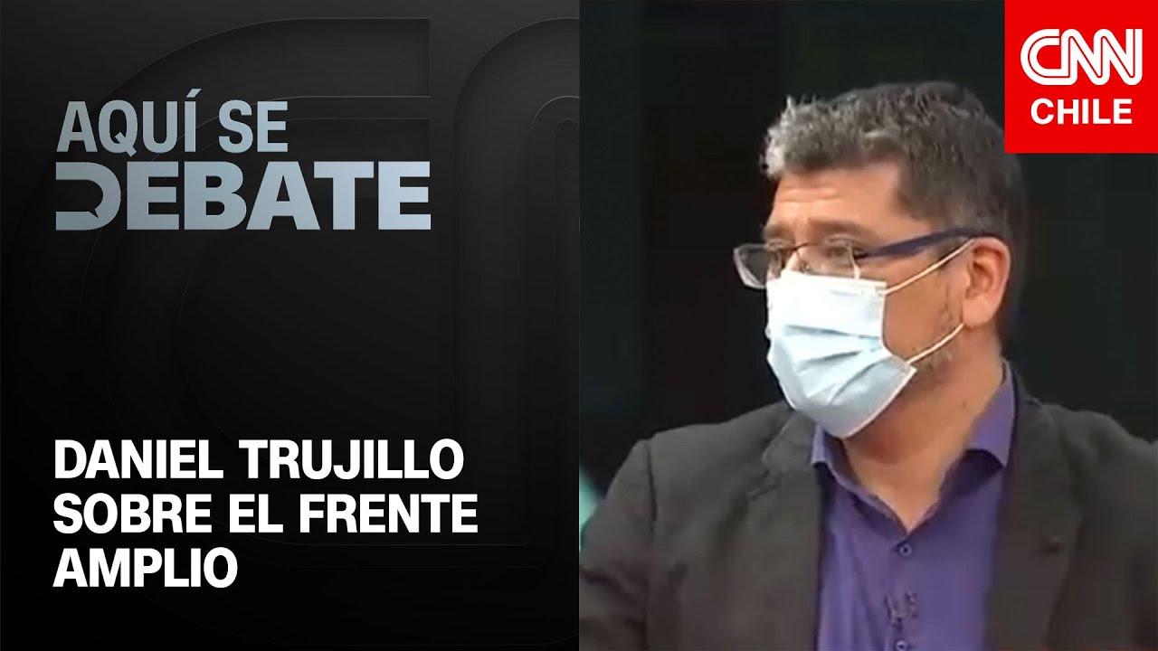 """Trujillo sostiene que durante el estallido social no vio a nadie del FA """"recorriendo las comisarías"""""""