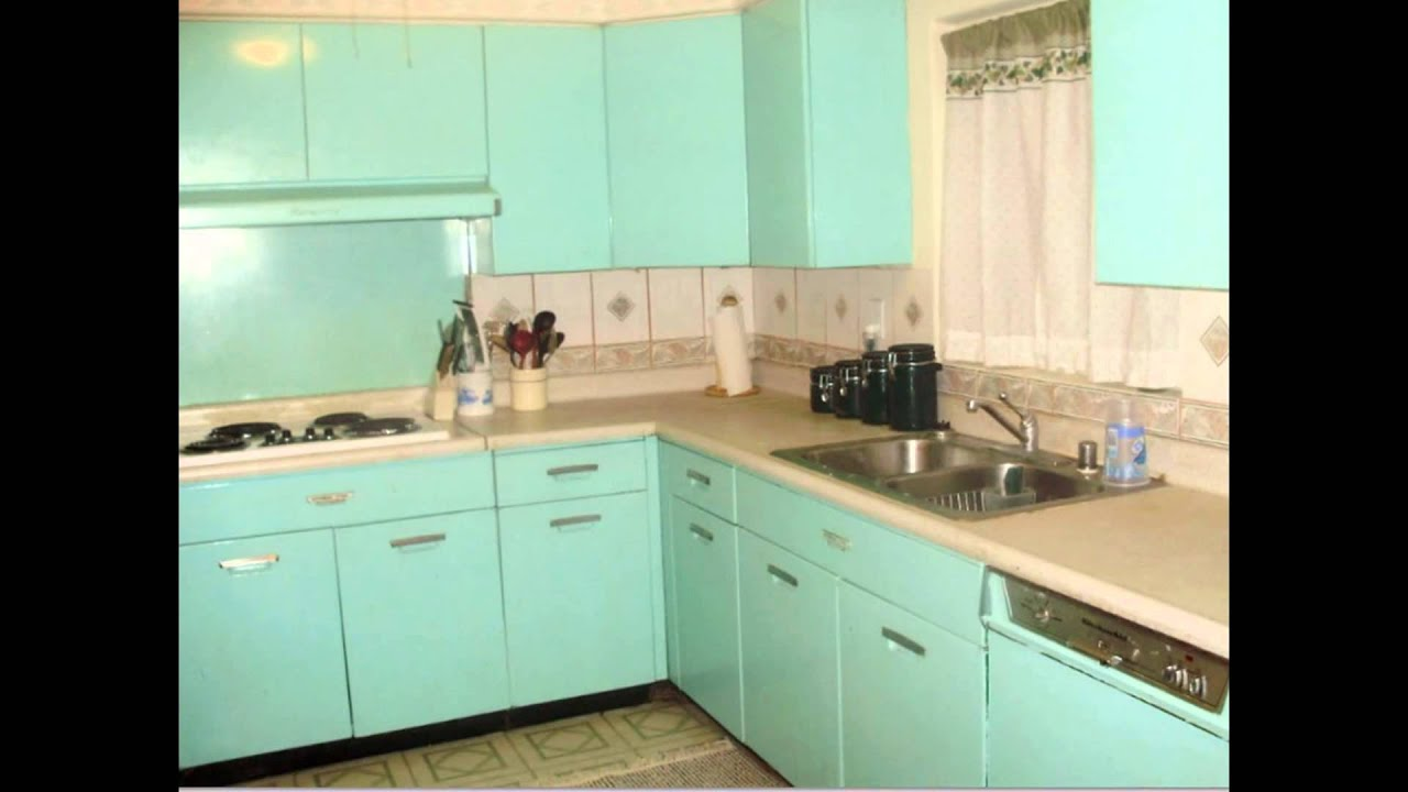 Metal kitchen cabinets youtube Revamp old kitchen cabinets