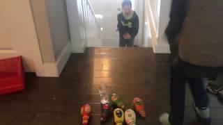Water Bottle Flip Trick Shots 2 | Quinn Ryder Films