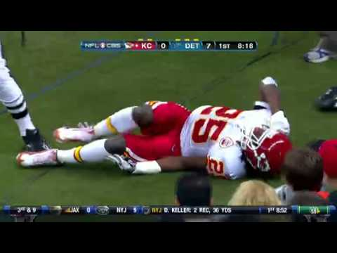 Jamaal Charles - Out For The Season Torn ACL [HD]