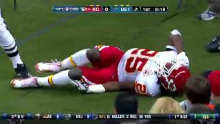jamaal charles out for the season torn acl hd