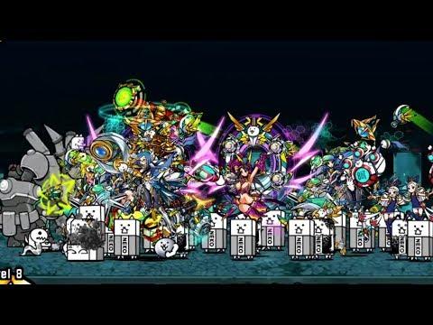The Battle Cats - Mecha Bun Bun VS Galaxy Gals