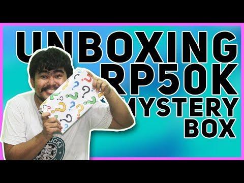 UNBOXING RP50K MYSTERY BOX DARI LAZADA