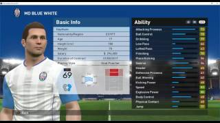 PES 17 Become A legend Edit Player Data with cheat engine