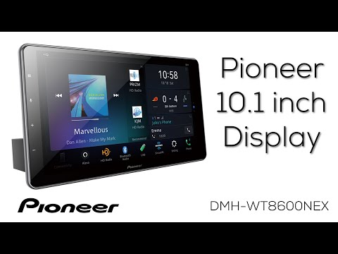 Pioneer 10.1 Inch Screen DMH-WT8600NEX - What's In The Box?