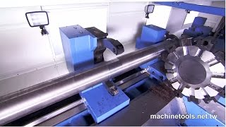 Heavy Duty Lathe/Heavy Duty Precision Lathe/Lathe Machine/CNC Lathe/Lathe  - HD Video by S&J Corp.