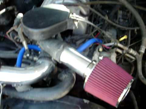 1987 f150 50L 302 cold air intake  YouTube