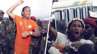 How Didier Drogba ended a Civil War - Oh My Goal