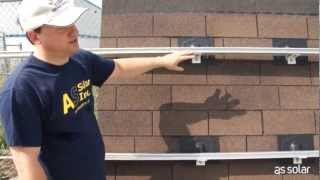 AS Solar's DIY Solar Panel Installation, Part 3: Mounting the Kinetic rail