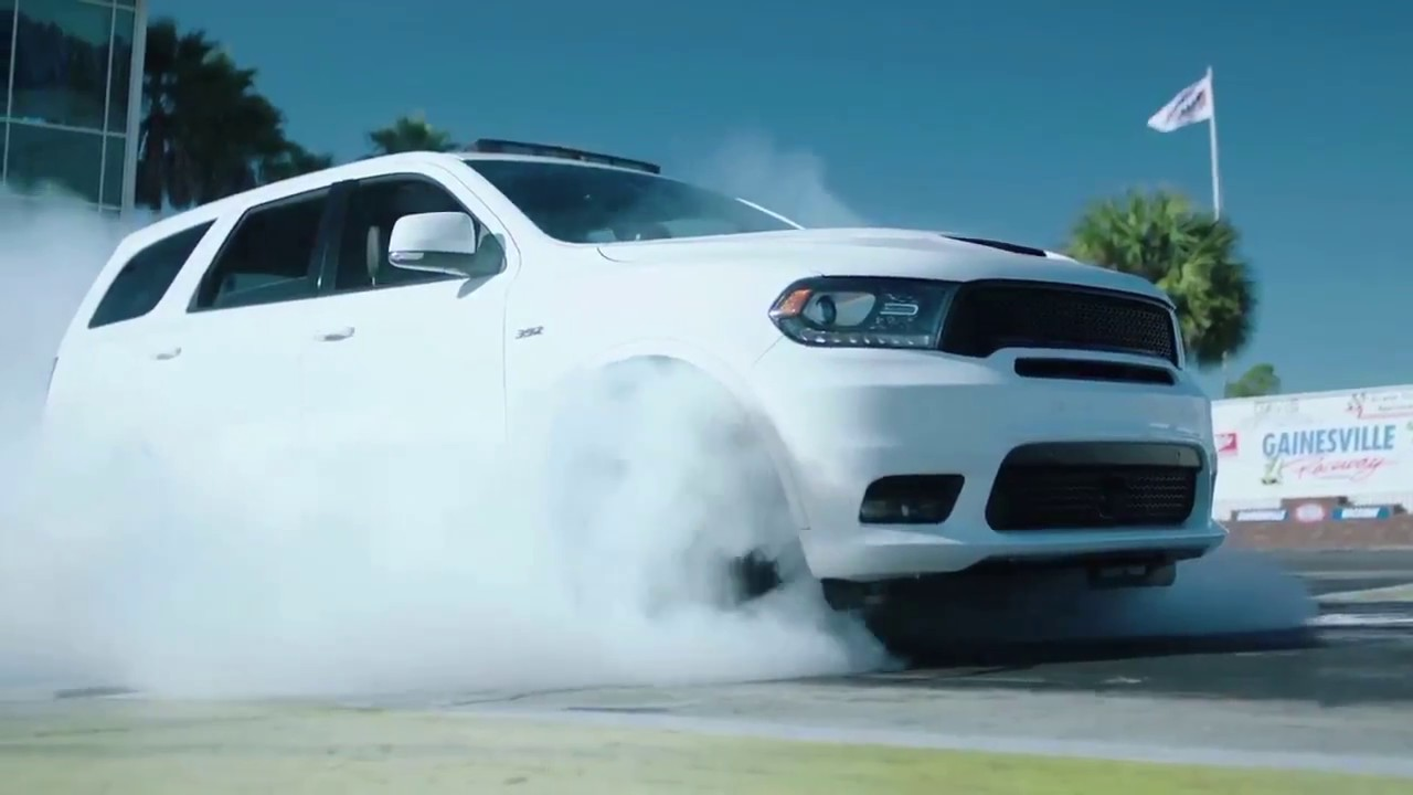"Champion Dodge Downey >> 2018 DODGE DURANGO ""Burnout"" Commercial - Los Angeles, Cerritos, Downey CA - SRT - 800.549.1084 ..."