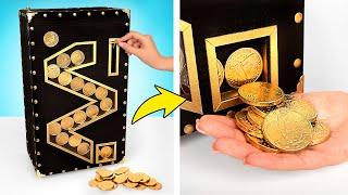 판지로 초콜릿 동전 자판기 만드는 법