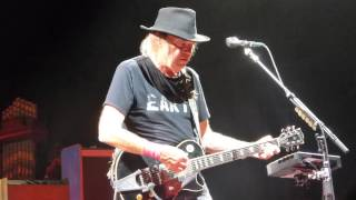 Neil Young - A New Day For Love - Lincoln, NE - 7.11.2015