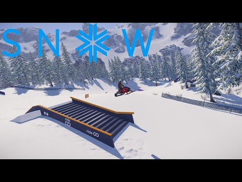 SNOW The Game | Snowmobile Preview!