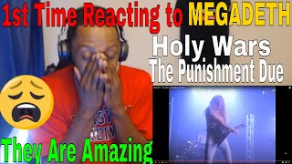 Download First Time Reacting to | Megadeth - Holy Wars...The Punishment Due