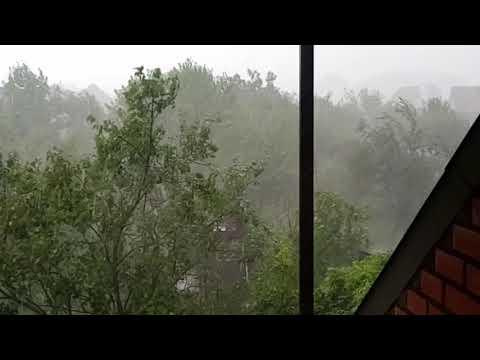 Апшеронск летний дождь.08.06.2018г.