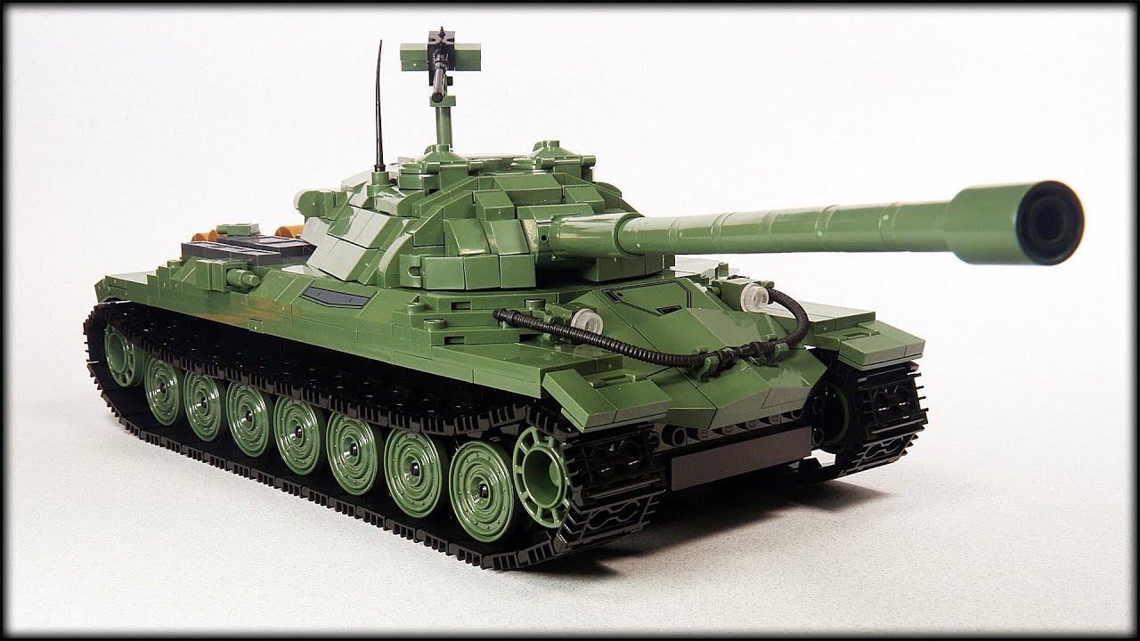 ИС-7 из кубиков / COBI танк / обзор конструктора