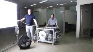 10 elektromanyetik jeneratör kW prototip