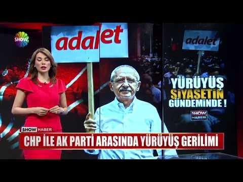 CHP ile Ak Parti arasında yürüyüş gerilimi