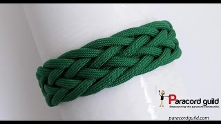 Gaucho knot paracord bracelet starting simple