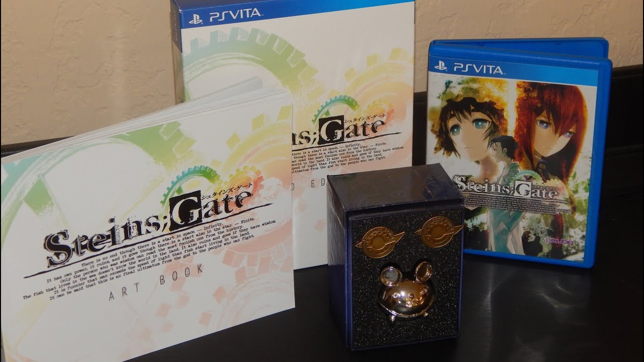 Steins Gate El Psy Kongroo Edition Unboxing Us Version