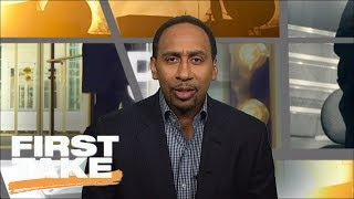 Stephen A. Calls Lakers $500,000 Tampering Fine 'bogus'  First Take  Espn