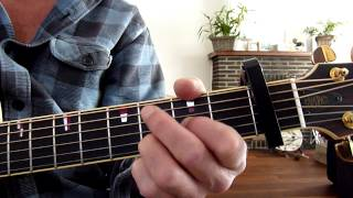 "How to play ""Ballad of Hollis Brown"" by Bob Dylan"