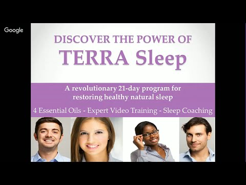 Introduction to TERRA Sleep: A Revolutionary Program for Restoring Healthy Natural Sleep