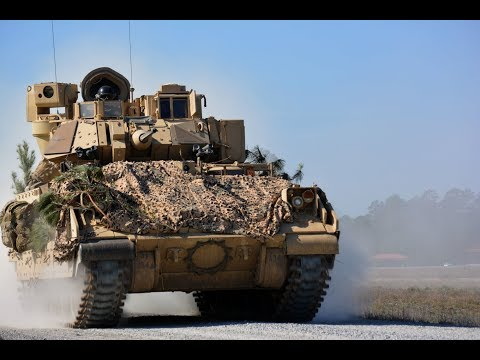 M2 Bradley - Огонь Из Противотанковых Ракет и Пулемета