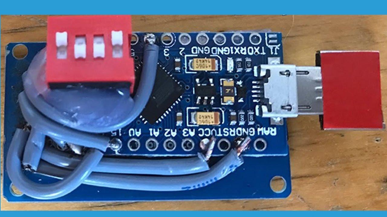 arduino badusb w dip switches [ 1280 x 720 Pixel ]