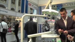 Турбинный наконечник с генератором света LED на выставке в Москве(, 2014-11-23T12:03:32.000Z)