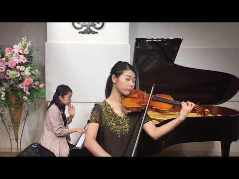 Hiroshi Kasuya Violin 2017 糟谷宏 バイオリン演奏動画 / モーツァルト:ヴァイオリン協奏曲第4番ニ長調 K.218より第1楽章