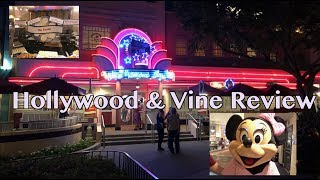 Hollywood & Vine Review - Disney's Hollywood Studios