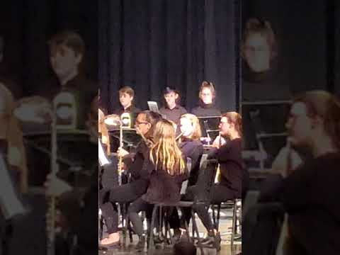 7th grade band concert Circle Middle School 11/26/19#1