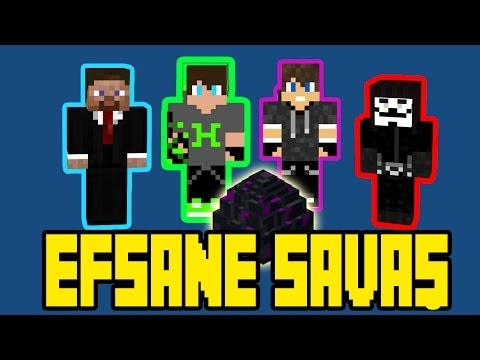 Minecraft Eggwars [ Yumurta Savaşı ] Efsane Savaş !!!  /w Gitaristv /w Eso /w Takım Elbiseli