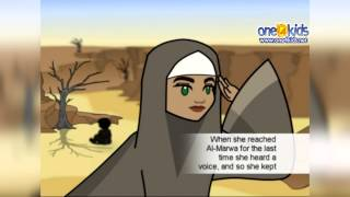 the well of zamzam is built by hajar storytime with zaky hd