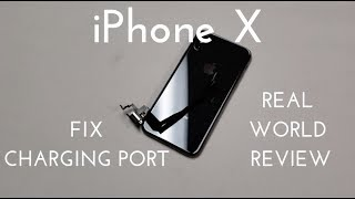 iPhone X Charging Port Replacement (Fix All Your Charging Issues!)