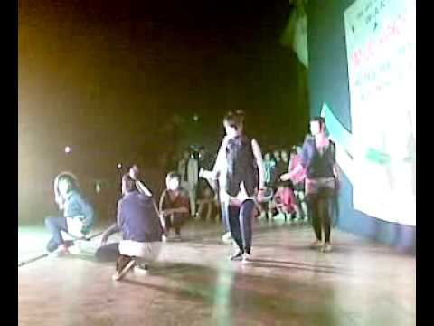 electric shock crew (girl in việt trì city)hiphop dance