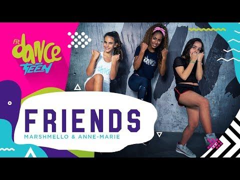 Friends - Marshmello & Anne-Marie  FitDance Teen Coreografía Dance