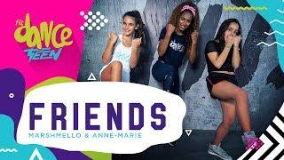 Baixar Friends - Marshmello & Anne-Marie | FitDance Teen (Coreografía) Dance Video