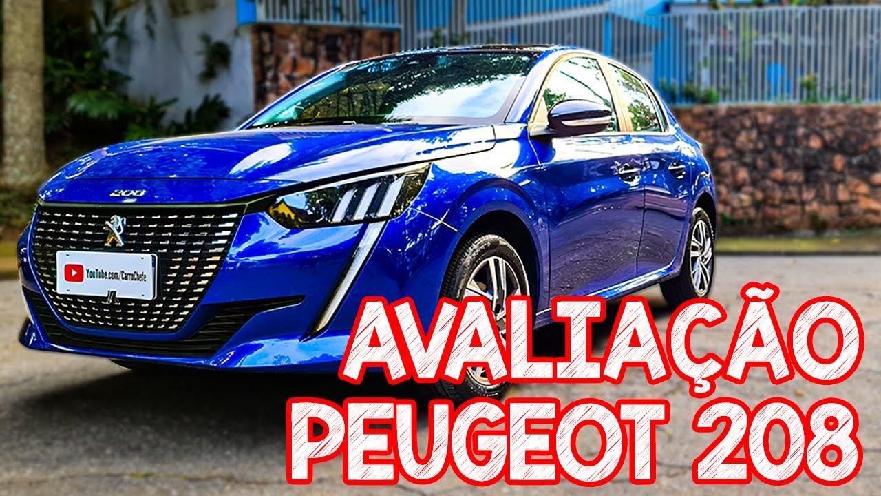 Avaliação novo Peugeot 208 - Uma BELA FRENTEIRA, mas por 98 mil sem turbo?