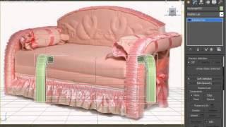 02 создание простой структуры дивана