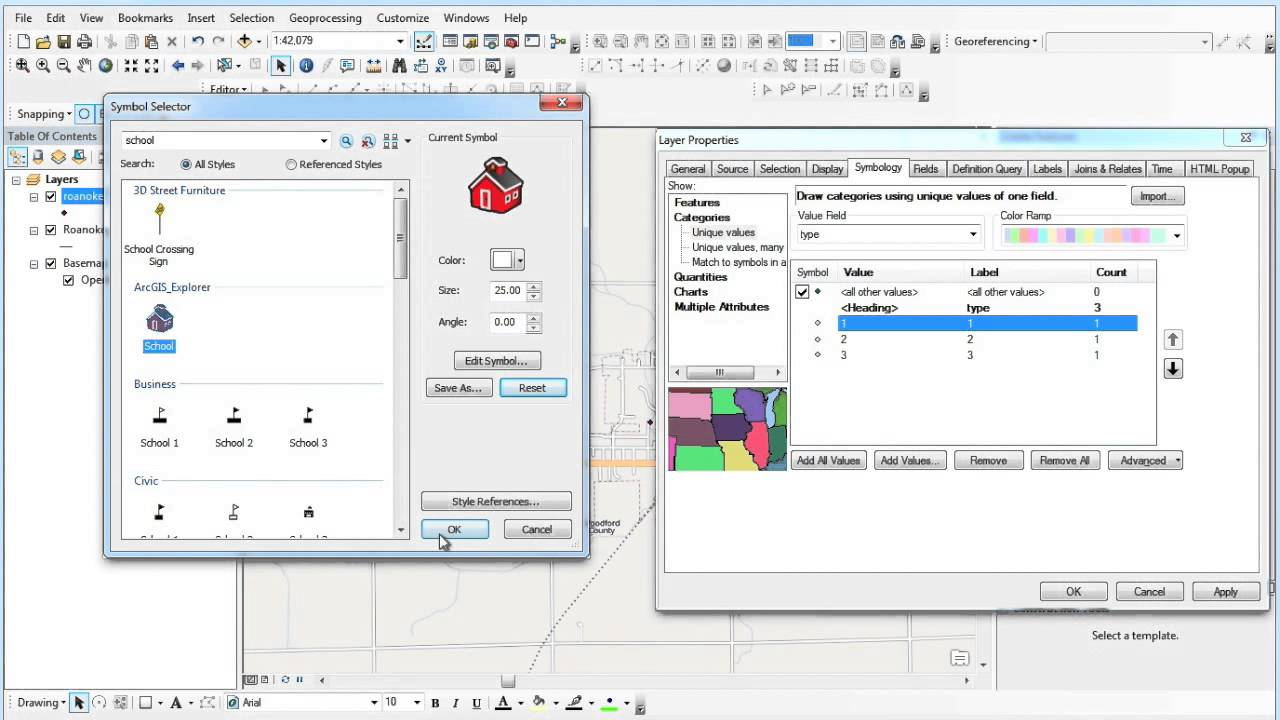 3075e393a26 Creating   Editing Shapefiles in ArcGIS Desktop (2 of 2) - YouTube