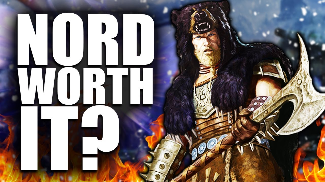 Skyrim: Being a Nord WORTH IT? - Elder Scrolls Lore thumbnail