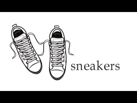 dd226d7d6c7d4d Як намалювати кеди, малюємо спортивне взуття, #draw, як намалювати ...