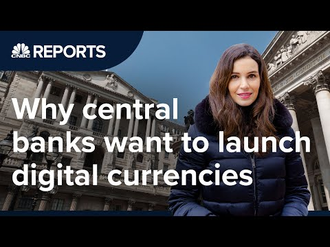 Why Central Banks Want To Launch Digital Currencies | CNBC Reports