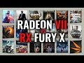 RADEON VII vs FURY X Benchmarks   Gaming Tests Review & Comparison   53 tests