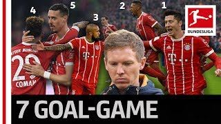 Bayerns 5-Star Comeback - Vidal Lewandowski  Co Down Hoffenheim