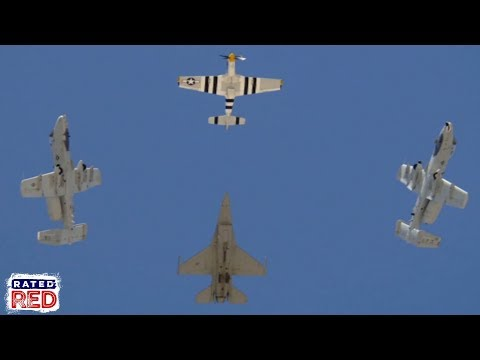 USAF's Heritage Flight Program Set to Perform Its First-Ever Super Bowl Flyover