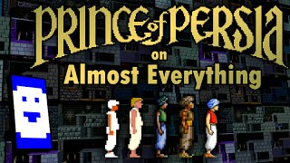 Stumbling through Prince of Persia on Almost Everything